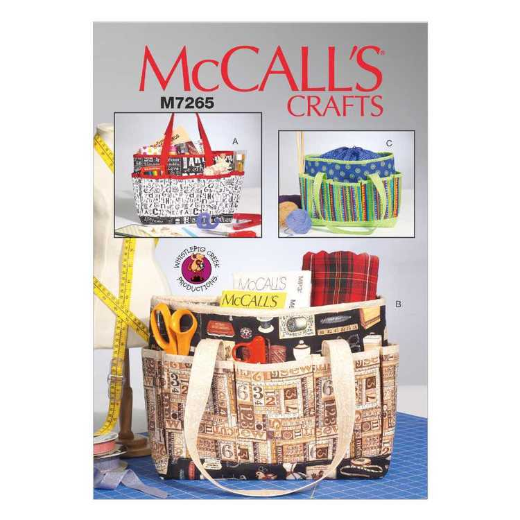 McCall's Pattern M7265 Project Totes