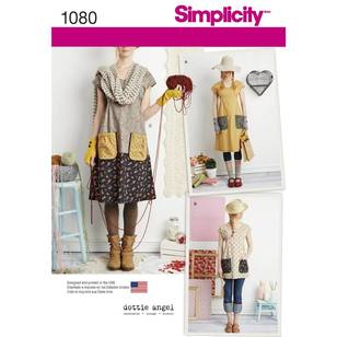 Simplicity Pattern 1080 Misses' Dress & Tunic