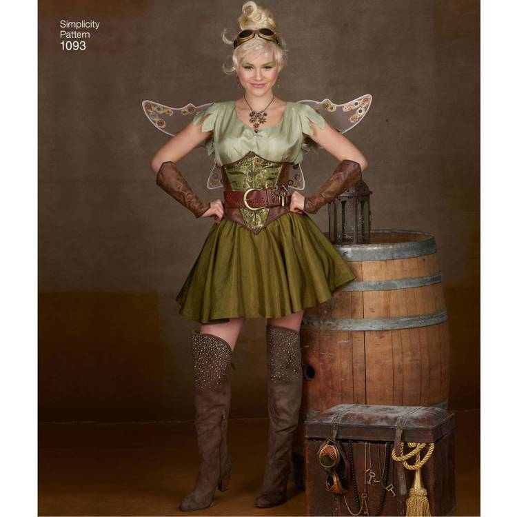 Simplicity Pattern 1093 Misses' Cosplay Costume