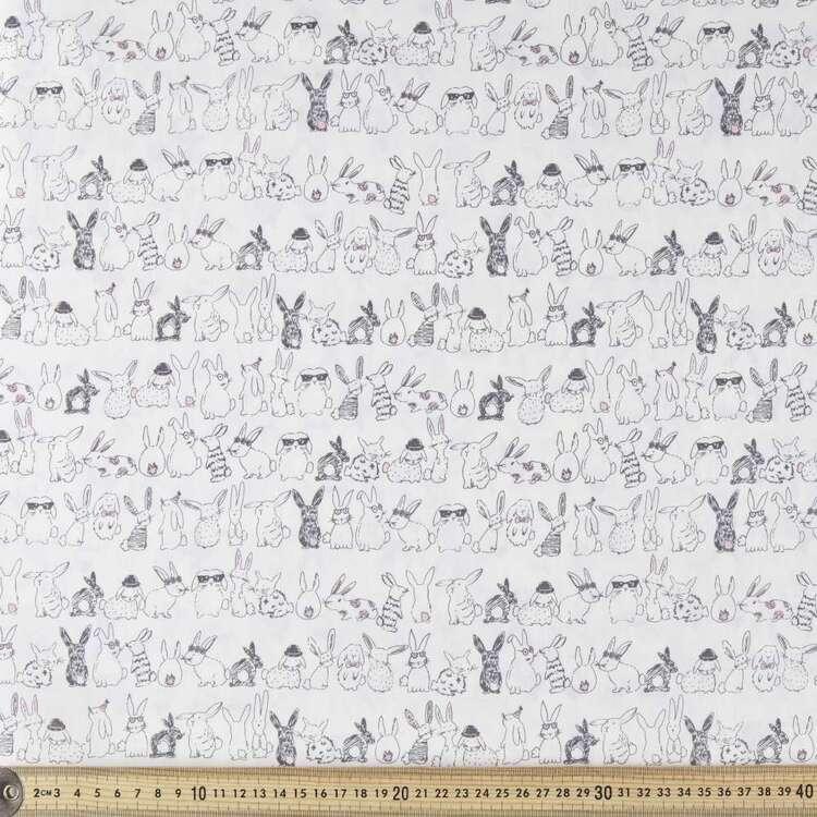 Bunny Parade Cotton Poplin