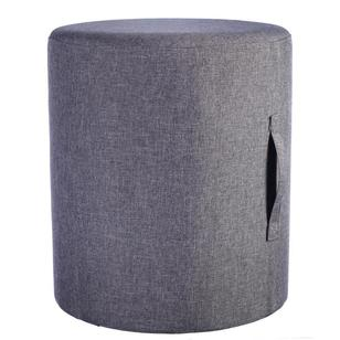 Living Space Round Victoria Ottoman