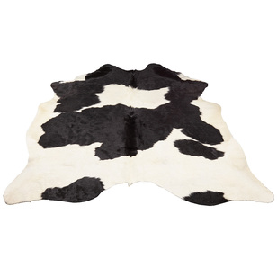 Safari Hide Rug Black