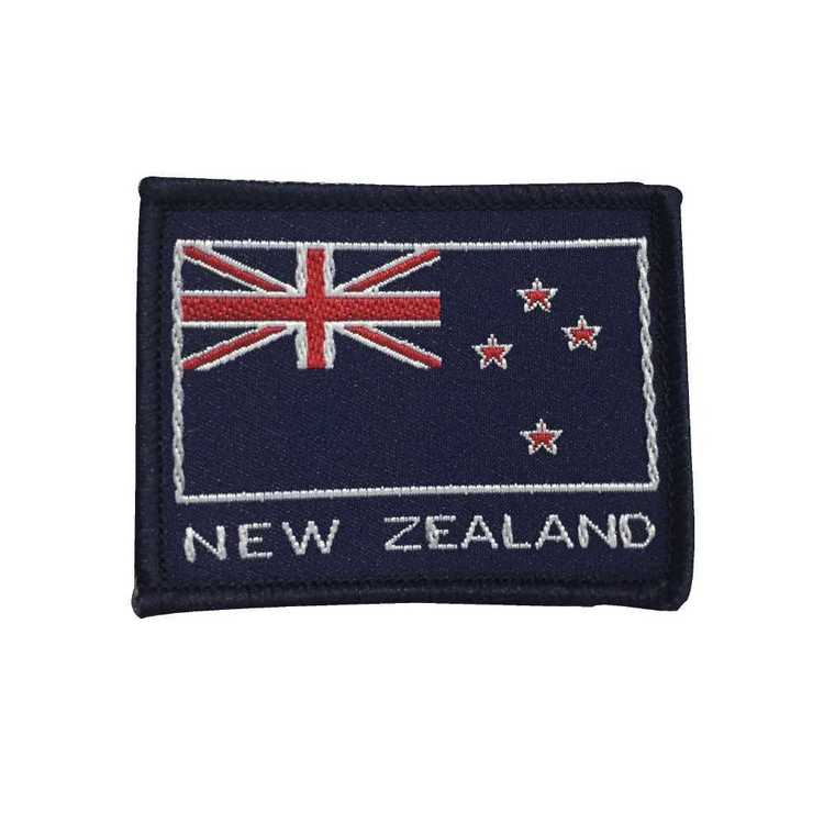 New Zealand Flag Motif Multicoloured Small