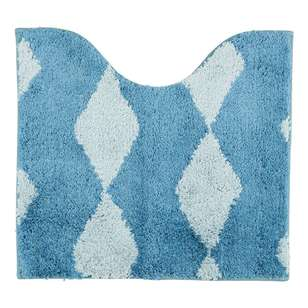 Jaspa Diamond Pedestal Bath Mat