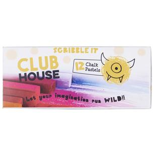 Club House Scribble It Square Chalk Pastel