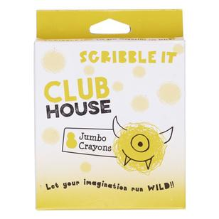 Club House Scribble It Jumbo Crayons