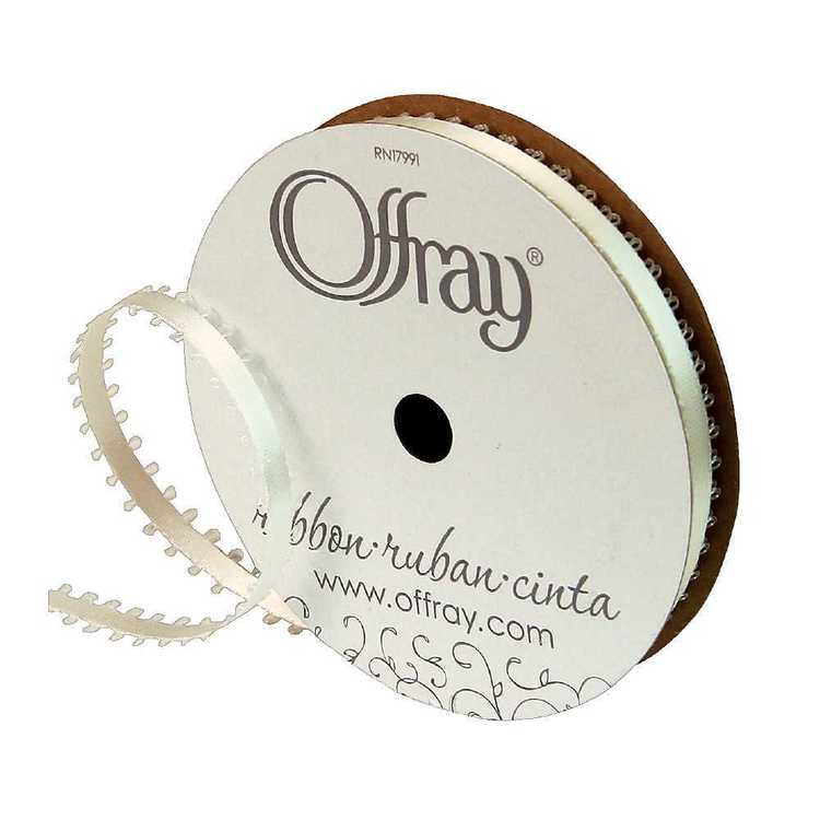 Offray Feather Edge Ribbon