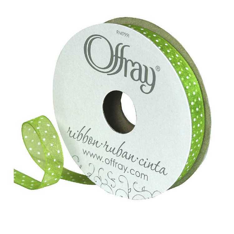 Offray Sheer Petite Dot Ribbon
