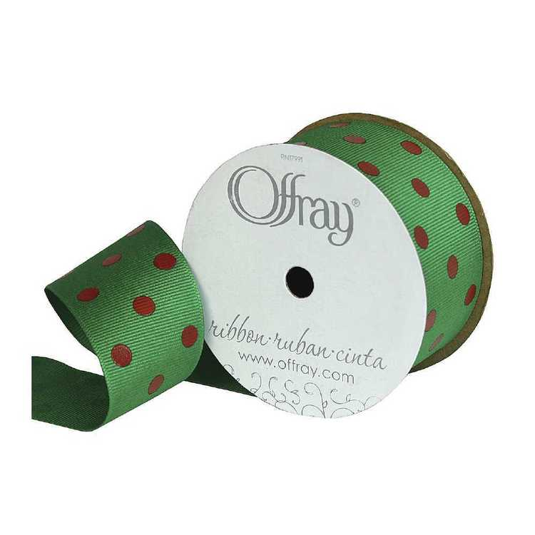 Offray Dippy Dots Ribbon
