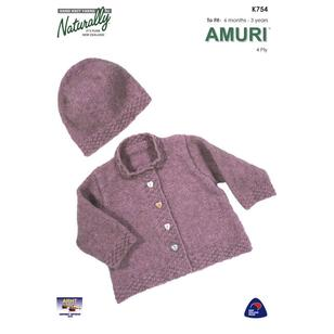 Naturally Amuri 4 Ply K754 Yarn Book