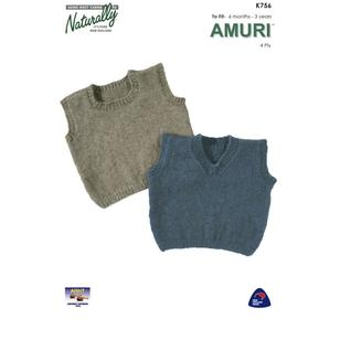 Naturally Amuri 4 Ply K756 Yarn Book