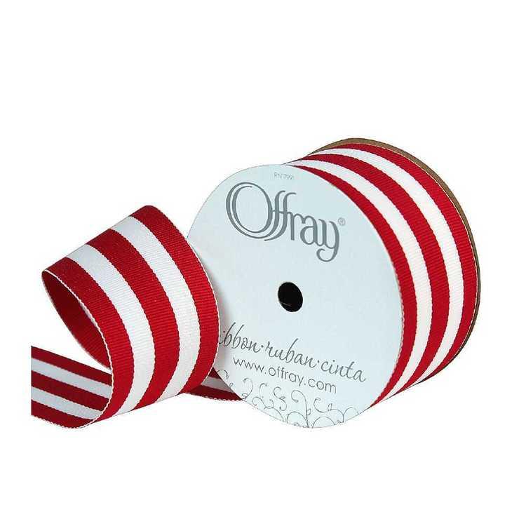 Offray Mono Stripe Ribbon