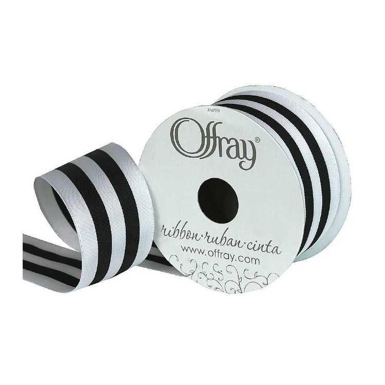 Offray Power Stripes Ribbon