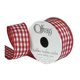 Offray Gingham Ribbon