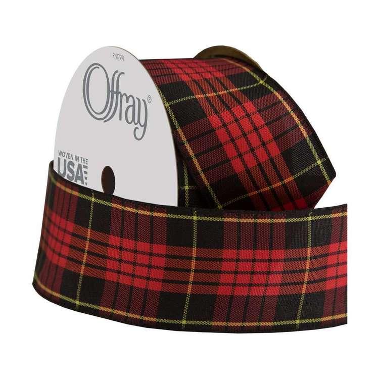 Offray Classic Tartan Ribbon