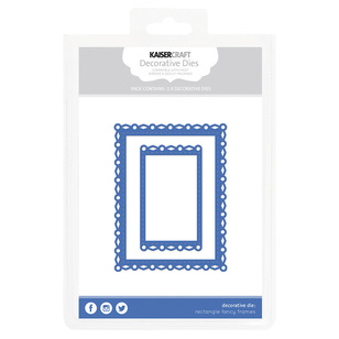 Kaisercraft Rectangle Fancy Frames Decorative Die