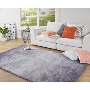 Ombre Pansy Shaggy Rug