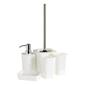 Ladelle Nero Soap Dispenser White