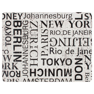 Ladelle Dine Big Cities Placemat Pack