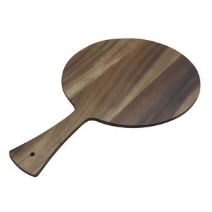 Living Space Acacia Wood Round Paddle Board