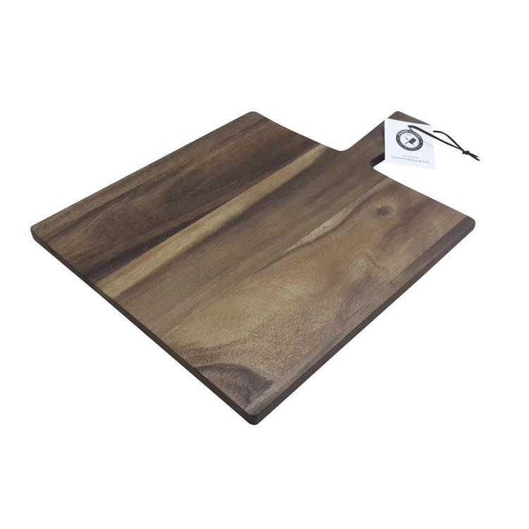 Culinary Co Acacia Wood Square Paddle Board