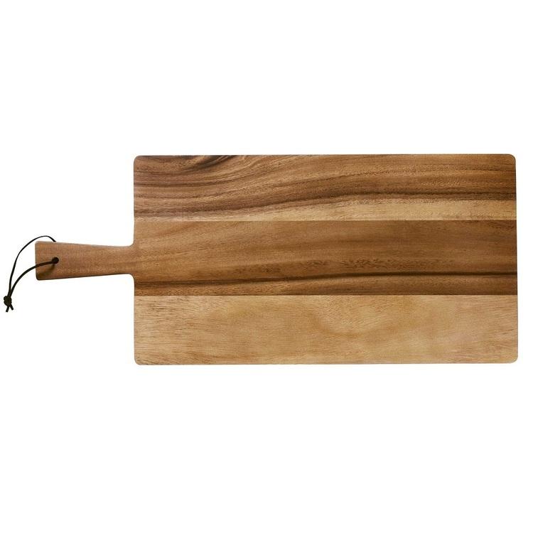 Culinary Co Acacia Rectangle Paddle Board