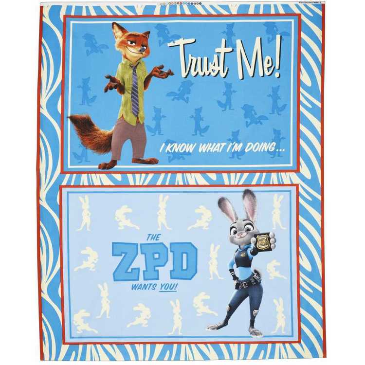 Disney Zootopia Panel