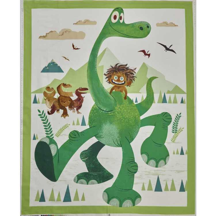Disney Pixar Good Dinosaur Panel Green 122 cm