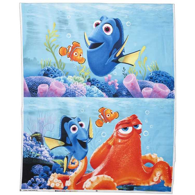 Disney Pixar Finding Dory Panel Multicoloured 90 x 112 cm