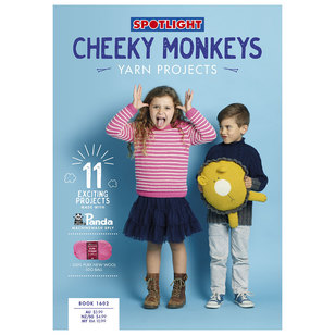 Cheeky Monkeys Machinewash Book