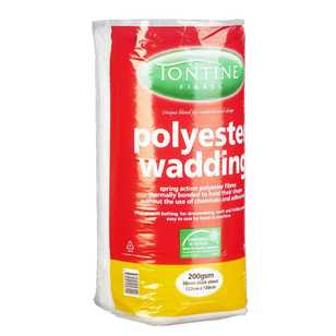 Tontine Pre-Packed Wadding 200g