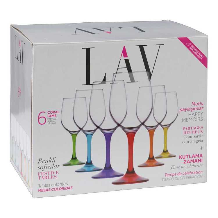 LAV Fame Red Wine Globet Set