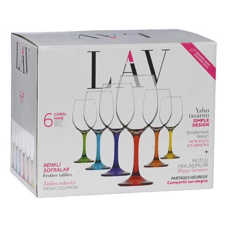 LAV Fame White Wine Glass Set