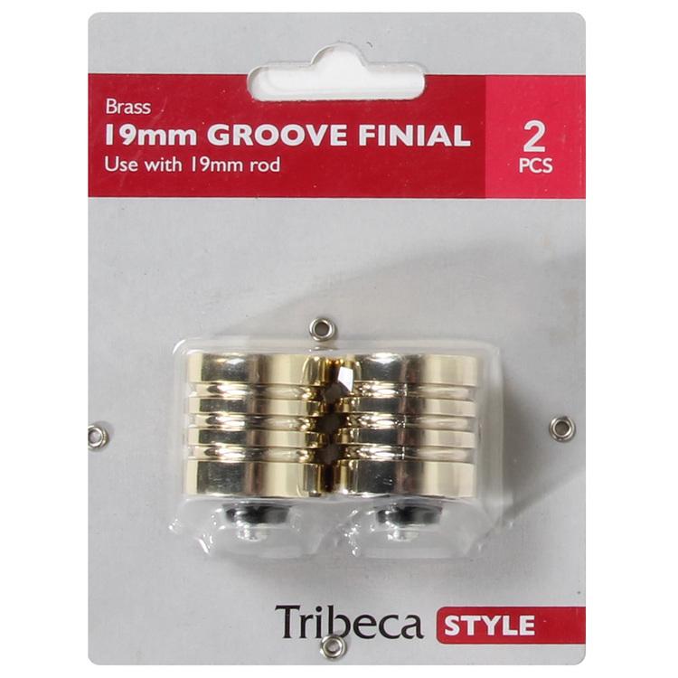Tribeca Groove Finials