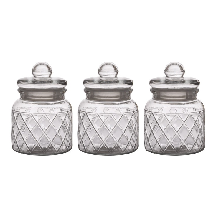 Small Decorative Spotlight: Casa Domani Trellis Jar Set