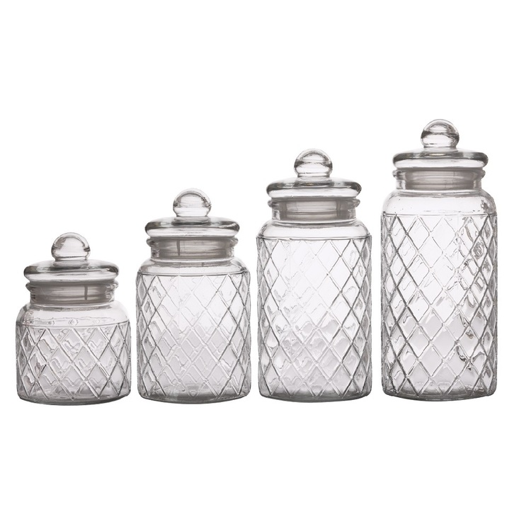 Casa Domani Trellis Storage Jar Set