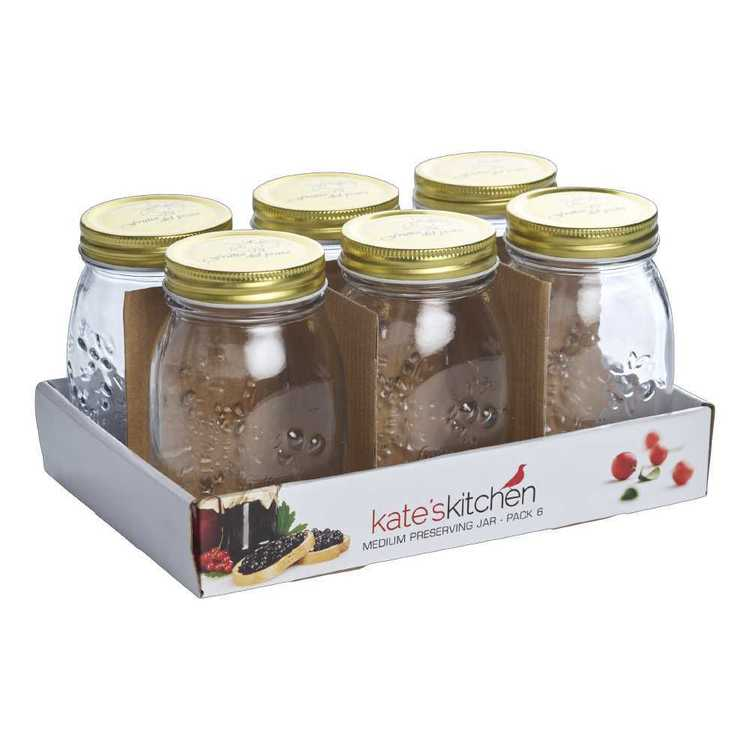 Kate's Kitchen Large Preserve Jars