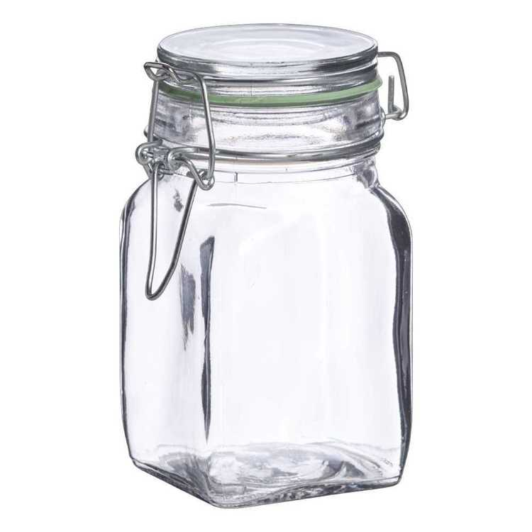 Kate's Kitchen Glass Jar Clear 250 mL