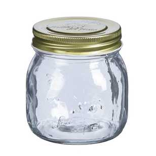 Kate's Kitchen Embossed Screw Top Preserve Jar