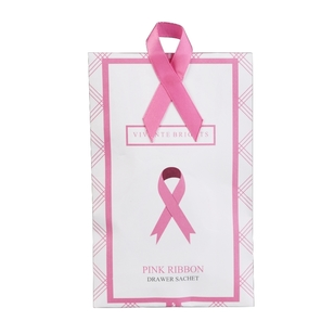 Vivante Brights Pink Ribbon Drawer Sachets