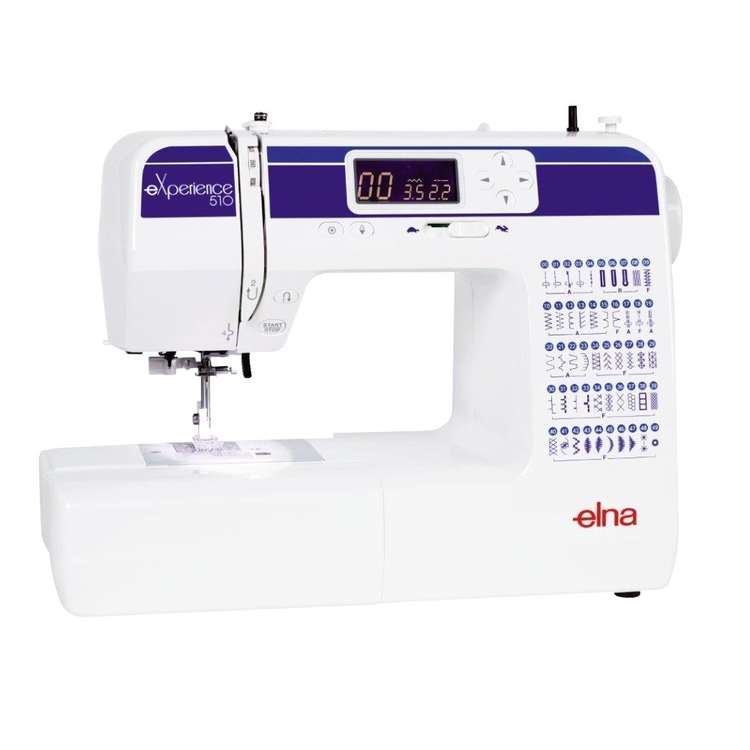 Elna Experience 510 Sewing Machine White