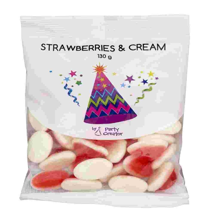Party Creator Strawberries and Cream Multicoloured - Everyday Bargain