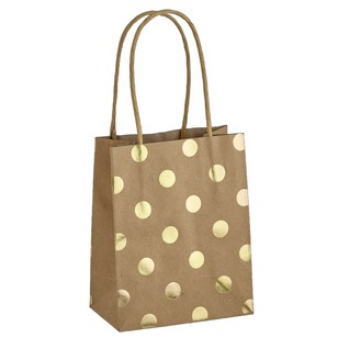 Artwrap Small Spots Foil Kraft Bag