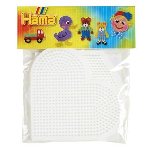 Hama Heart and Hexagon Pegboard