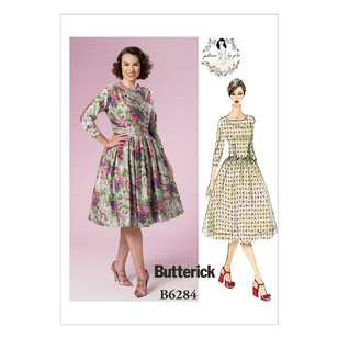 Butterick B6284 Misses' Dress Patterns By Gertie