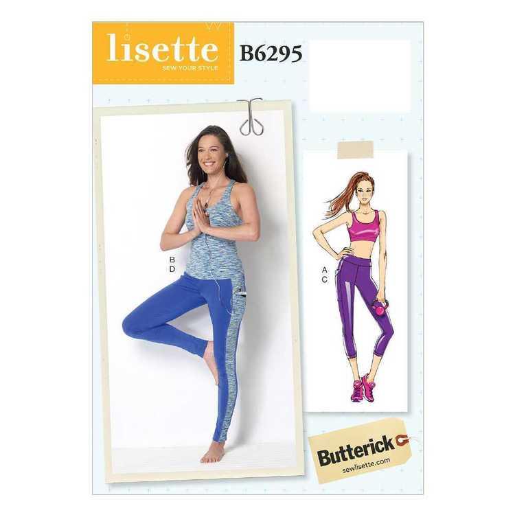 Butterick Pattern B6295 Misses' Criss-Cross Bra Top