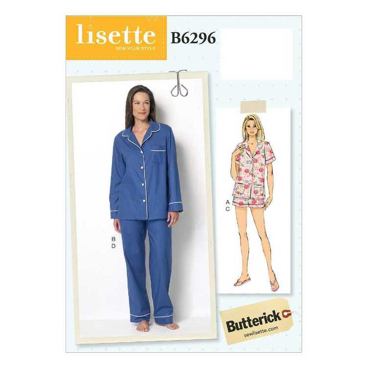 Butterick Pattern B6296 Misses' Button-Down Tops