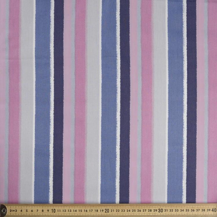 Spots & Stripes Multi Stripes Poplin