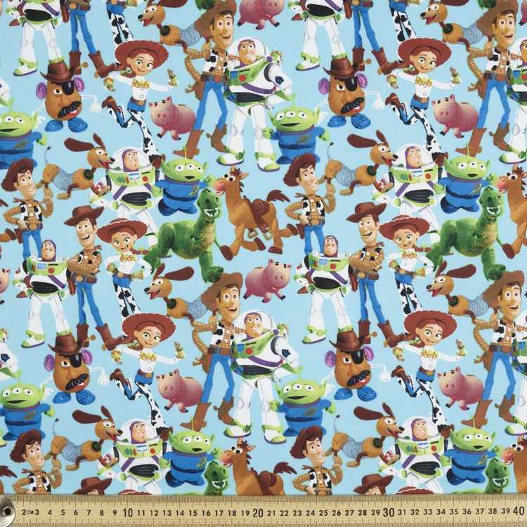 Disney Pixar Toy Story Multi Poplin