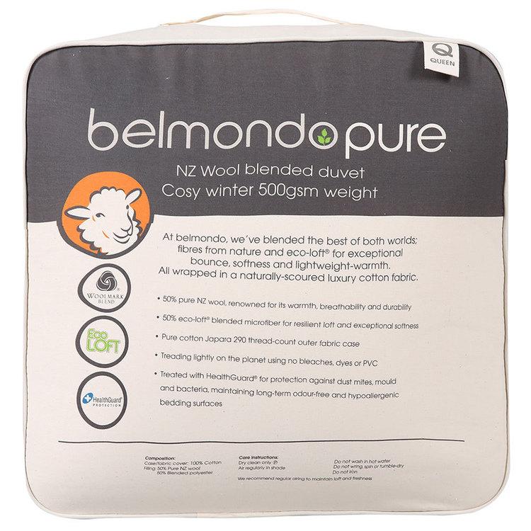 Belmondo Pure Wool Blend Duvet